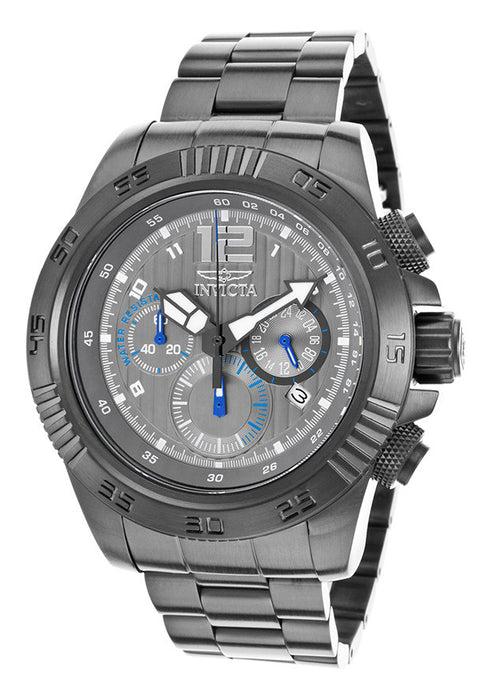 Invicta 15901 Men's Speedway Chrono Gunmetal IP Steel Grey Dial