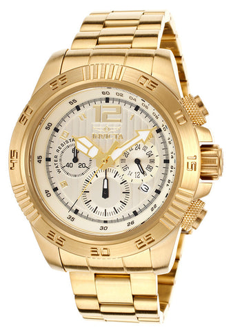 Invicta 15902 Men's Speedway Chrono 18K Gold Plated Steel Gold-Tone Dial