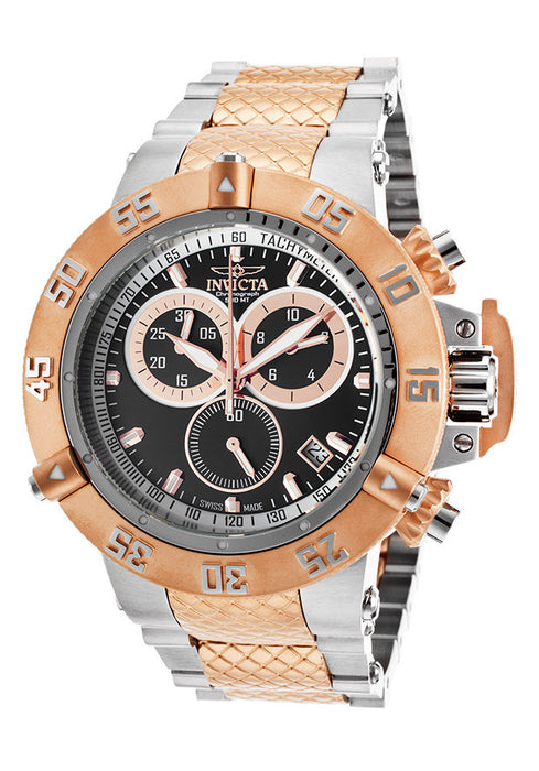 Invicta 15951 Men's Subaqua Noma III Two-Tone Steel Chrono Black Dial