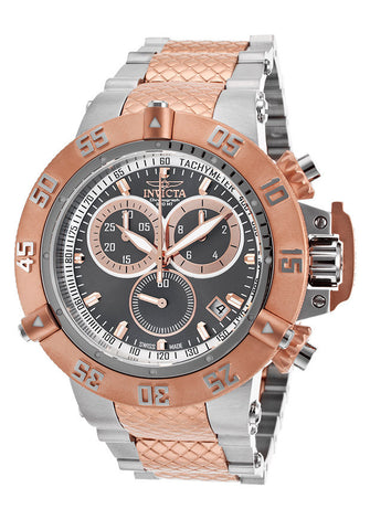 Invicta 15952  Men's Subaqua Noma III Two-Tone Steel Chrono Gunmetal Dial