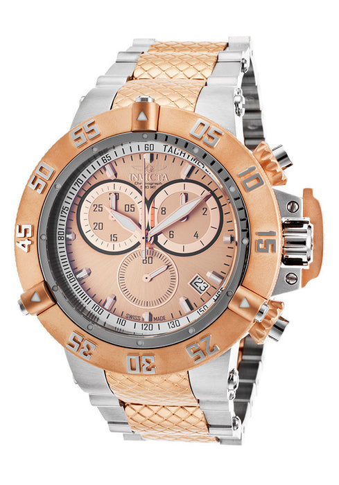 Invicta 15953  Men's Subaqua Noma III Two-Tone Steel Chrono Rose-Tone Dial