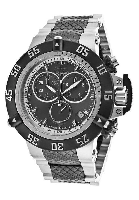 Invicta 15955 Men's Subaqua Noma III Two-Tone Steel Chrono Gunmetal Dial