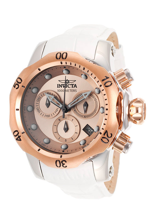 Invicta 16091 Women's Watch Venom Chronograph Rose-Tone Dial
