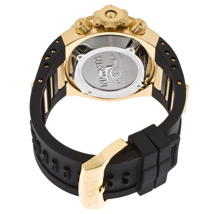 Invicta 16145 Men's Subaqua, Chronograph Yellow Gold Tone Stainless Steel