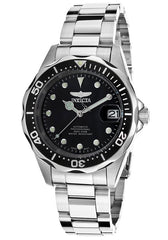 INVICTA-17039 Men's Pro Diver Automatic Black Dial Stainless Steel