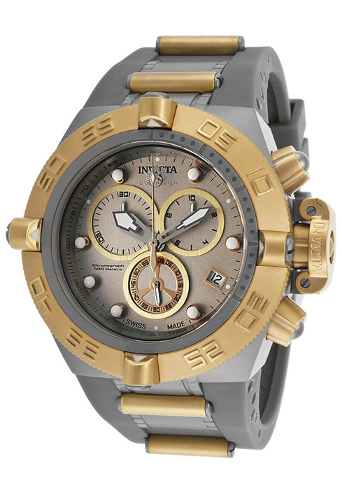 Invicta Men's 17208 Subaqua Analog Display Swiss Quartz Grey Watch