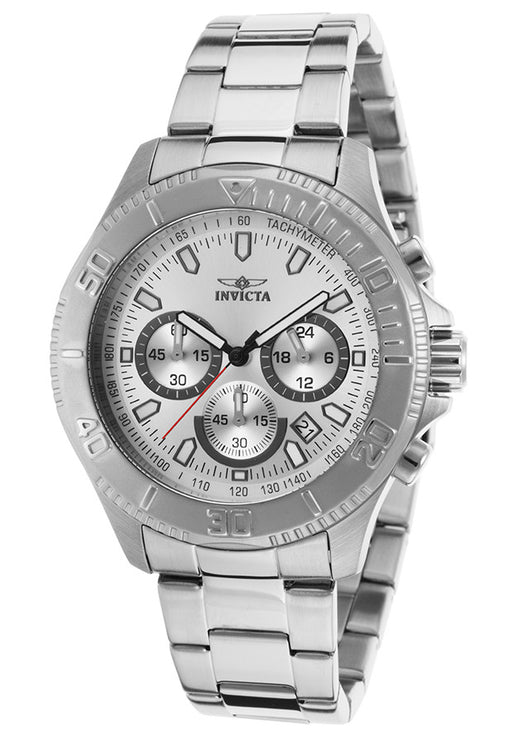 Invicta Men's 17361 Pro Diver Analog Display Japanese Quartz Silver Watch