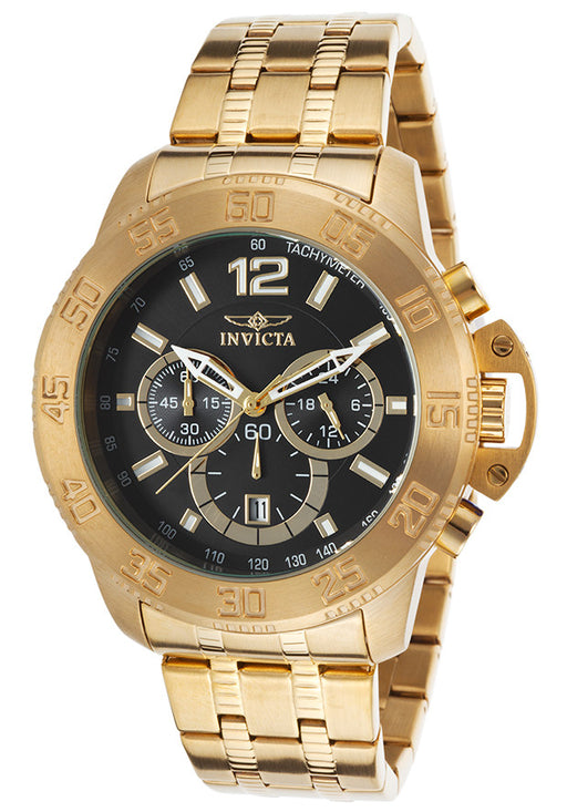 Invicta Men's 17448 Specialty Analog Display Japanese Quartz Gold Watch