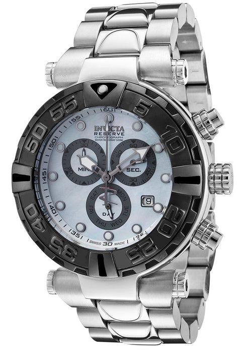 Invicta 17692 Men's Subaqua Chronograph Stainless Steel Mother of Pearl Dial