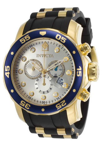 Invicta 17880 48mm Stainless Steel Case Black Polyurethane flame fusion Men's Watch