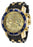 Invicta 17881 48mm Stainless Steel Case Black Polyurethane flame fusion Men's Watch