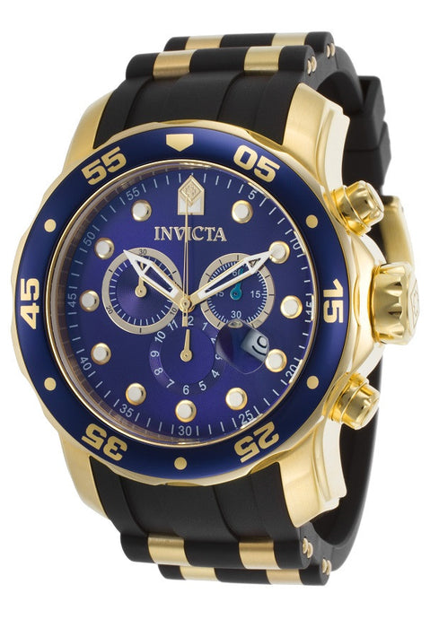 Invicta 17882 Pro Diver, Men's Watch, Blue Dial, Rubber Band