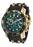 Invicta 17886 Pro Diver Chronograph Green Black Polyurethane Mens Watch