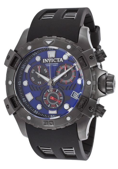 Invicta Men's 18862 Specialty Analog Display Swiss Quartz Black Watch