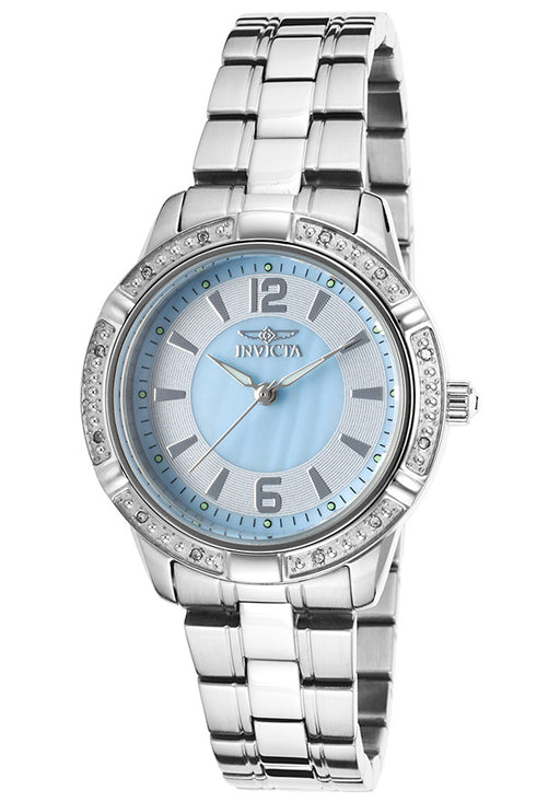 Invicta Women's 19357 Angel Analog Display Japanese Quartz Silver Watch