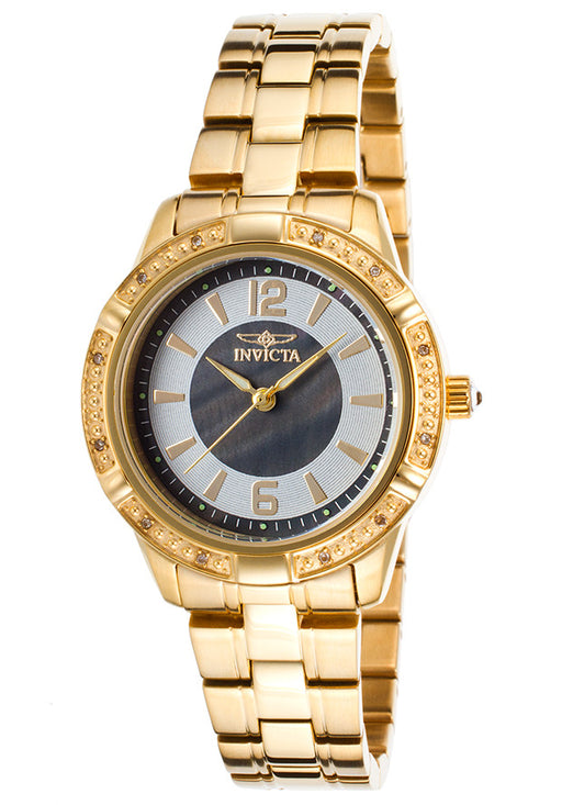 Invicta Women's 19359 Angel Analog Display Japanese Quartz Gold Watch