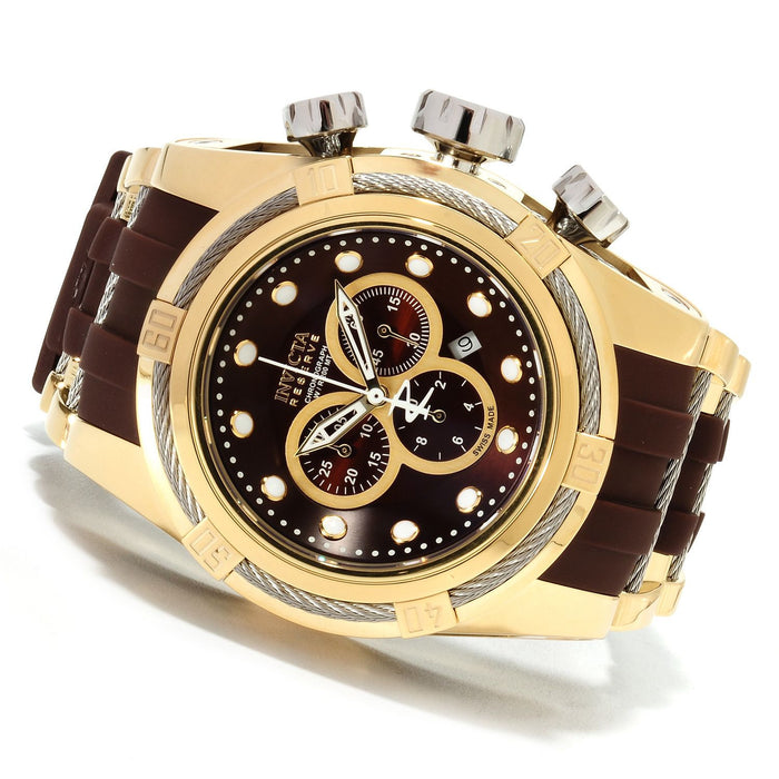 Invicta 14406 Bolt Zeus Reserve Gold and Brown Men's Watch