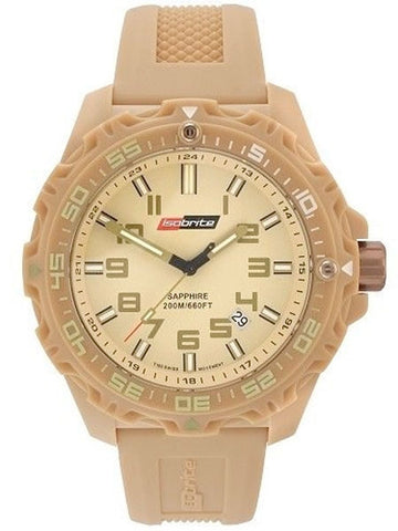 ISOBrite T100 Valor Series Tan Watch, ISO305