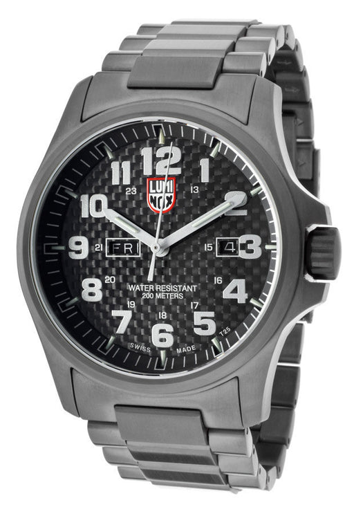 Luminox 1922 Men's Black Textured Dial Gunmetal Stainless Steel