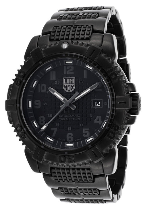 Luminox 6252 Men's Modern Mariner Black Ion Plated Steel and Dial