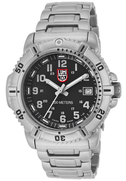 LUMINOX-7252 Women's Black Dial Stainless Steel