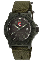 Luminox 8817-GO Men's Black Dial Olive Green Nylon