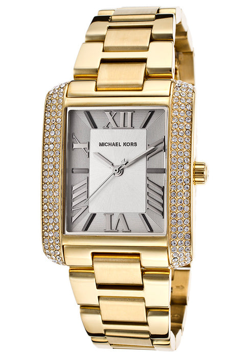Michael Kors Women's Gold-Tone Stainless Steel Bracelet Watch MK3254