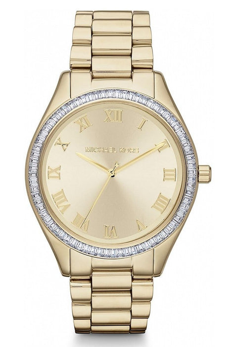 Michael Kors MK3244 Champagne Dial Gold-tone Stainless Steel Bracelet Ladies Watch
