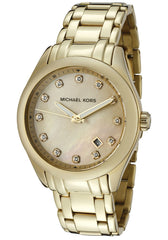 Michael Kors Women's MK5310 Gold Mother-Of-Pearl Watch