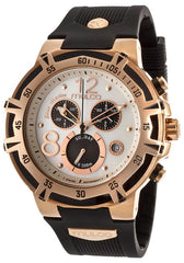 Mulco MW129903021 Women's Blue Marine Chronograph White Mother Of Pearl Dial Black Rubber