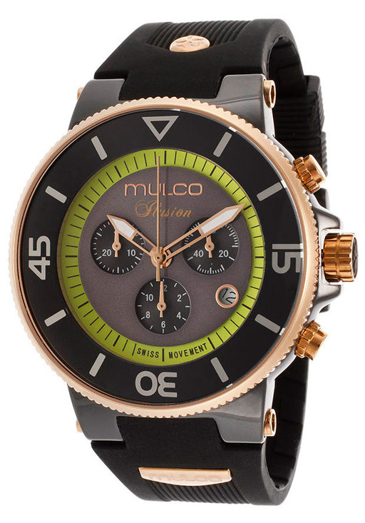 Mulco Unisex MW3-11009-025 Ilusion Ceramic Chronograph Swiss Movement Watch