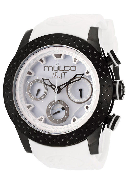 Mulco MW51962018 Nuit Light Blue Dial White Silicone