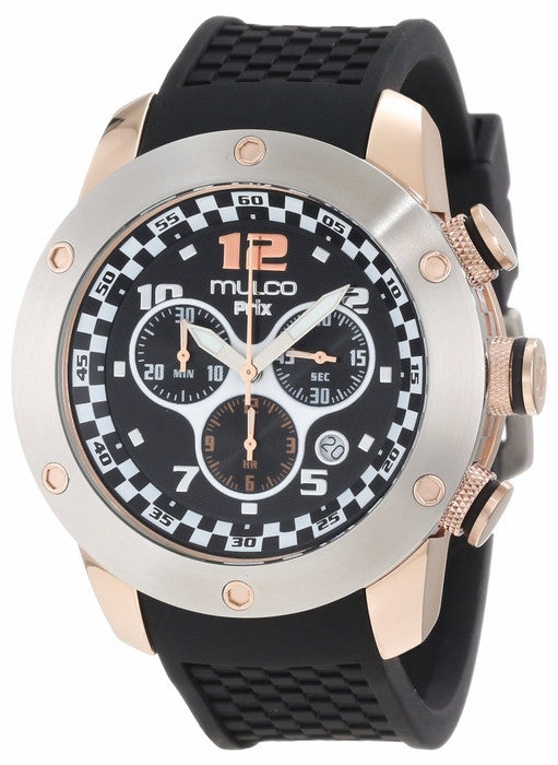 Mulco Unisex MW2-6313-025 Prix Chronograph Swiss Movement Watch