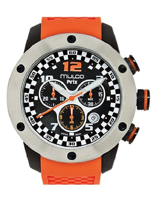 Mulco Unisex MW2-6313-085 Prix Chronograph Swiss Movement Watch