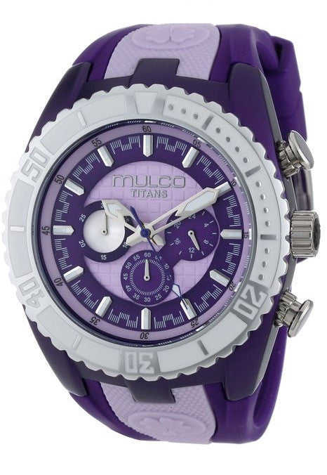 MULCO Unisex MW5-1836-051 Analog Chronograph Swiss Watch