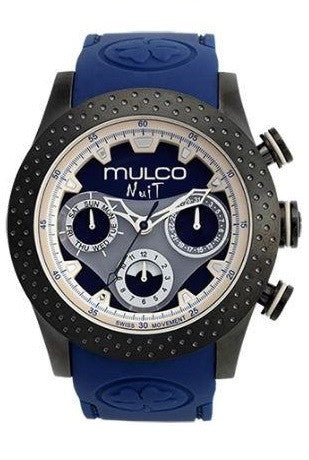 Mulco Unisex MW5-1962-045 Analog Chronograph Swiss Watch
