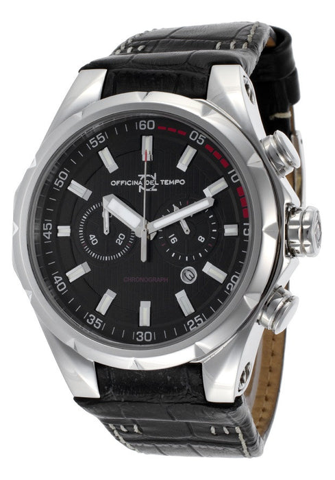 Officina Del Tempo Ot1029/110n Sail Mens Watch
