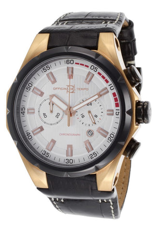 Officina Del Tempo Sail II Chronograph OT1029/160AGN, Black