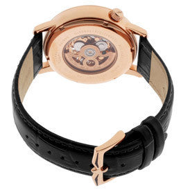 Rotary GLE000017-10 Swiss Men's Automatic Rose Gold Tone
