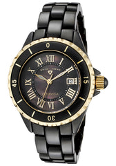 Swiss Legend Women's 10049-BKBGR Karamica Black Mother-Of-Pearl Dial Watch