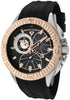Swiss Legend Men's Evolution Chronograph Black Silicone