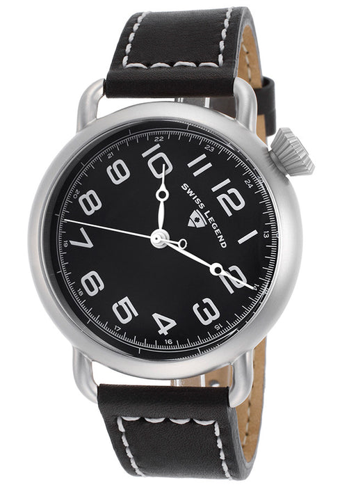 Swiss Legend Men's 11008-01 Frontier Analog Display Swiss Quartz Black Watch