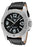 Swiss Legend Men's 20188-01 Conqueror Black Dial Black Leather Watch