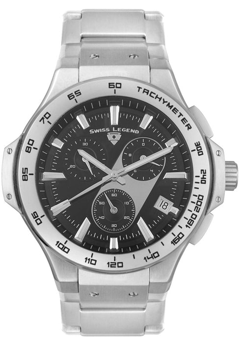 Swiss Legend Men's 40050-11 Maverick Chronograph Stainless Steel Watch