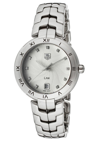 Women's Diamond Silver Textured Dial Stainless Steel TAG-WAT1311.BA0956