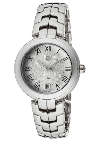 Women's Link Silver Textured Dial Stainless Steel TAG-WAT1314.BA0956