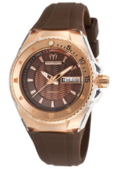 Technomarine 111009 Women's Cruise Brown Silicone Brown Dial