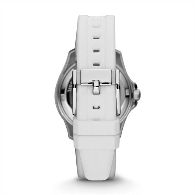Fossil Retro Traveler Three Hand Silicone Watch - White Am446