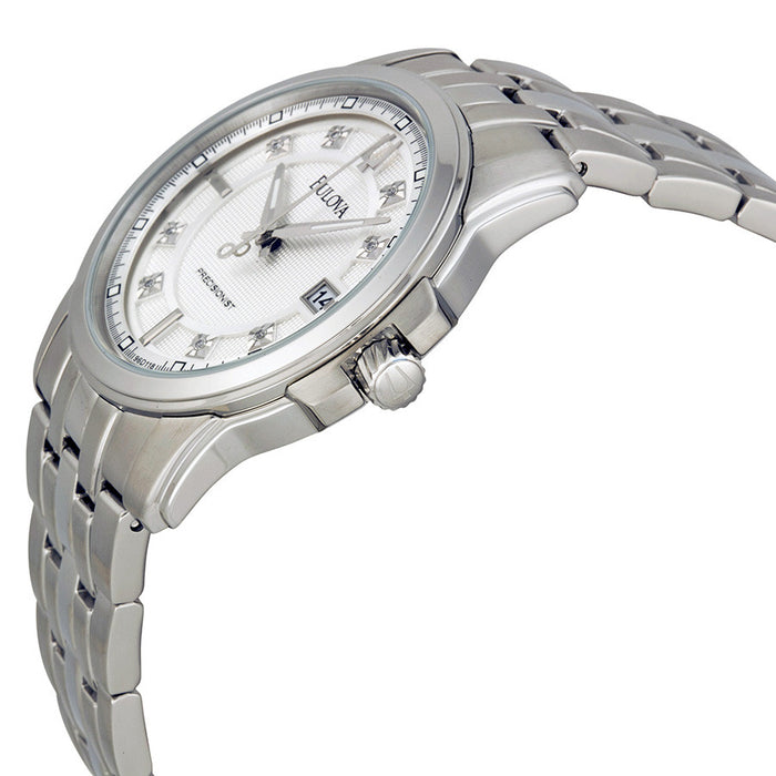 Bulova Men's 96D118 Precisionist Stainless Steel Bracelet Watch