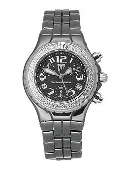 TechnoMarine Women's DTLCCB02C MoonSun Ceramic Mini Diamond Black Watch